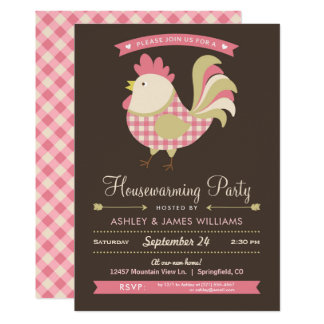 Country Housewarming Party Invitation