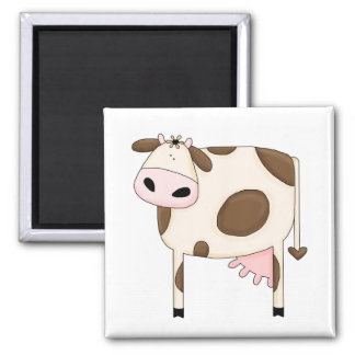 Country Humor Silly Cow Funny Magnet