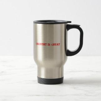 Country is Great coffee mug