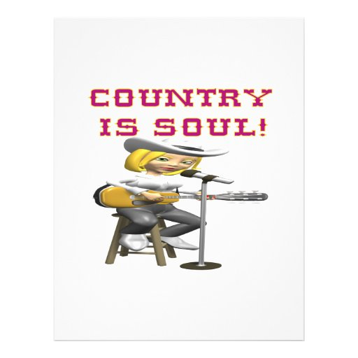 Country Is Soul Flyer