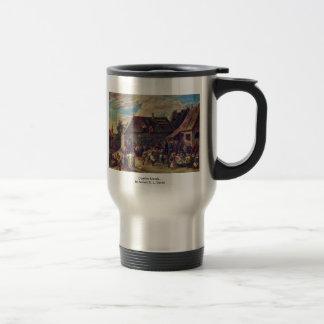 Country Kermis.,  By Teniers D. J., David Coffee Mug