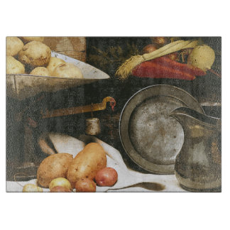Country Kitchen Still Life Cutting Board