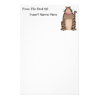Country Kitty Stationery Paper
