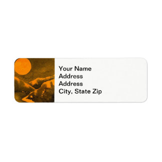 """Country landscapes scenic views  hunter""""s moon. return address label"""