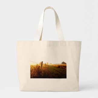 Country Lane, northern Ontario Canada Large Tote Bag