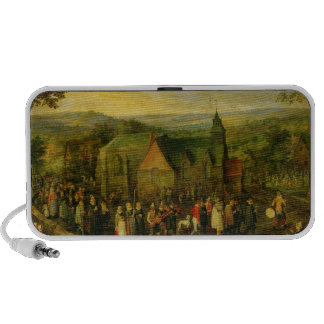 Country Life with a Wedding Scene Mp3 Speaker