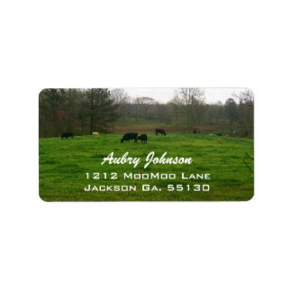 Country Living Address Labels