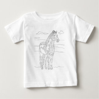Country Living Horse Baby T-Shirt