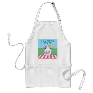 COUNTRY MOM apron