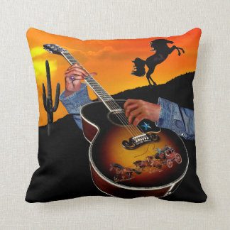 COUNTRY MUSIC CUSHION