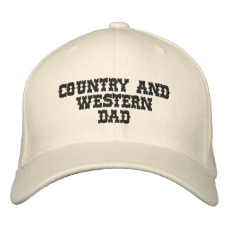 Country Music DAD Embroidered Cap