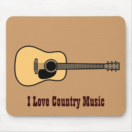 Country Music Mousepad