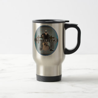 Country Music Stainless Steel Travel Mug