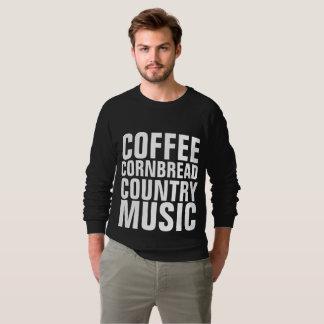 COUNTRY MUSIC T-shirts, COFFEE CORNBREAD Sweatshirt