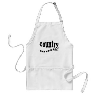 country music yeehaw adult apron