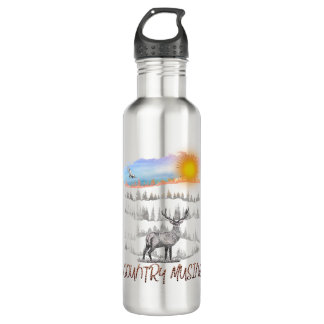 Country Musing water bottle