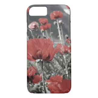 country nature landscape red poppy flower iPhone 7 case
