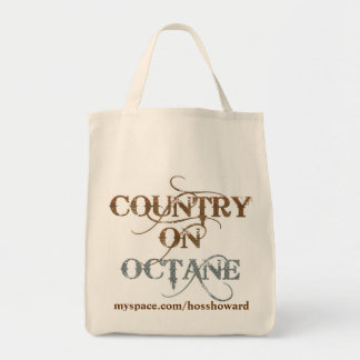 country on octane logo tote bags