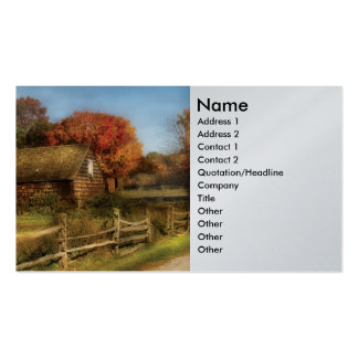 Country - Our Cabin Business Card