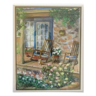 Country Porch Photo Print