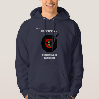 Country Reggae Music Hooded Sweatshirt