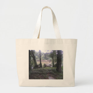 Country River Large Tote Bag