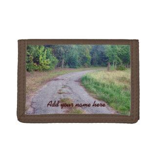 Country Road Custom Tri-fold Wallet
