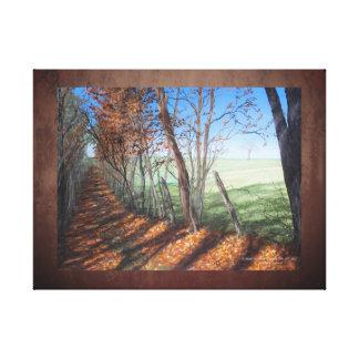 """Country Road"" Fine Art Landscape Canvas Print"