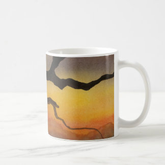 Country Road Mug rural sunrise sunset bare tree