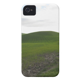 Country road over rolling green hills and valleys iPhone 4 Case-Mate case