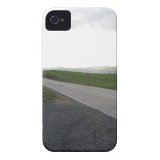 Country road over rolling green hills and valleys iPhone 4 cases