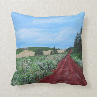 Country Road, PEI Cushion
