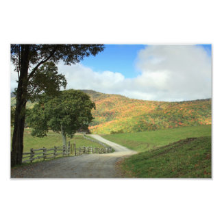 Country Road Print Photographic Print