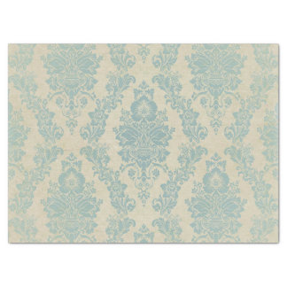 Country Shabby Chic Damask Tissue Paper