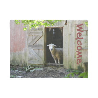 Country Sheep Doormat