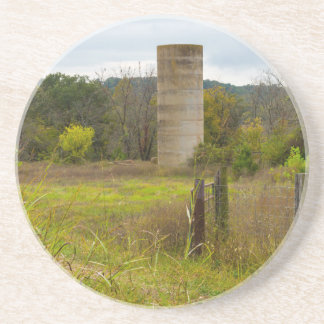 Country Silo Drink Coasters