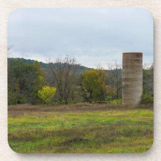 Country Silo Landscape Coaster