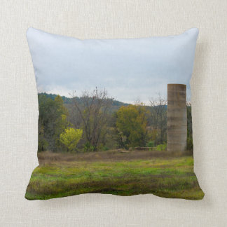 Country Silo Landscape Cushion