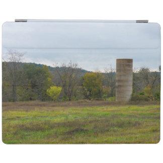 Country Silo Landscape iPad Cover
