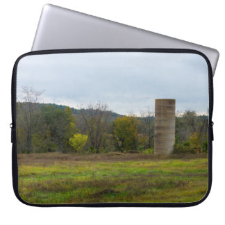Country Silo Landscape Laptop Sleeve