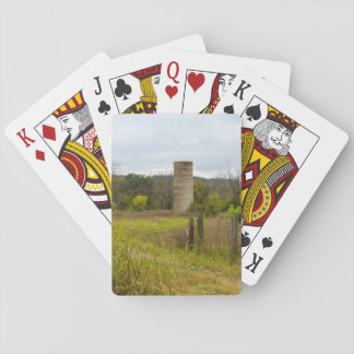 Country Silo Playing Cards