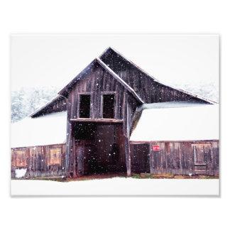 Country Snow 11x8.5 Photo