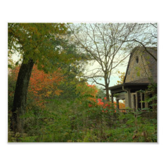 Country Stone Cottage Art Photo