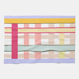 Country Striped Art Deco American MoJo Kitchen Tow Tea Towels
