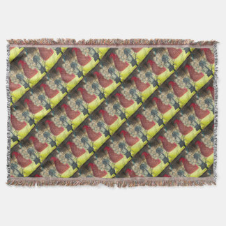 Country stuff throw blanket