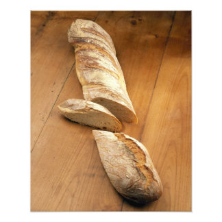 Country-style baguette For use in USA only.) Photographic Print