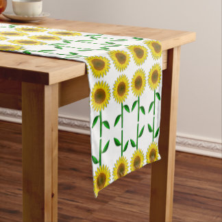 Country Style Sunflower Decorative Table Runner