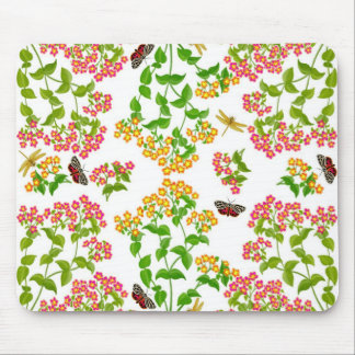 Country Summer Florals Mousepad