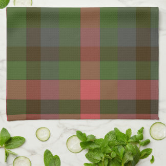 Country Summer's Eve Plaid Kitchen Towel