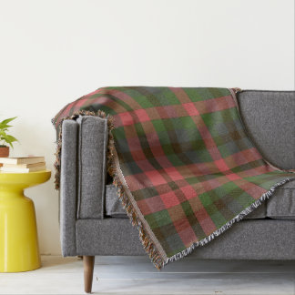 Country Summer's Eve Plaid Throw